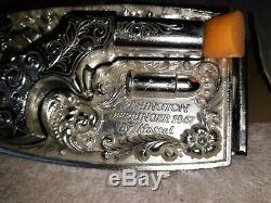 VINTAGE 1959 TOY REMINGTON DERRINGER 1867 BUCKLE GUN (CAP GUN) BY MATTEL WithBOX