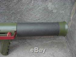 VINTAGE 1960'S REMCO MARINE RAIDER BAZOOKA TOY GUN With 3 MISSILES