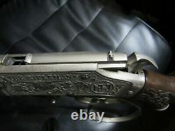 VINTAGE 1960'S WESTERN HUBLEY THE RIFLEMAN FLIP SPECIAL CAP GUN Orange Tip