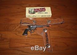 Vintage Alan Ladd Shane Schmidt Cap Gun With Custom Box & Holster