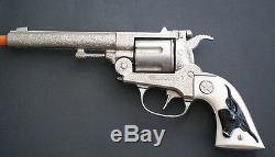 Vintage Cap-gun -hubley Texan-38 -excellent