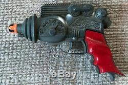 VINTAGE HUBLEY ATOMIC DISINTEGRATOR SPACE TOY CAP GUN 1950's RAY GUN