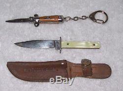 VINTAGE Miniature Cap Gun-Key Chains Plus Rare Chadwick 2mm Pinfire MORE LOOK