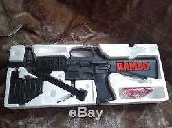 VINTAGE NIBEntertech Larami M-60 Motorized Water Gun Shoots up to 30 ft