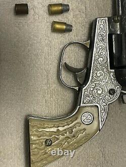 VINTAGE NICHOLS STALLION 41-40 SHOOTER CAP GUN w Cap Bullets