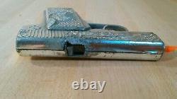 VINTAGE lot of 4 Fanner 50 Falcon Champ Agent Zero cap guns parts resto repair