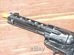 VTG Cast Metal Cowboy Toy Gun Pistol Revolver Replica Prop Lytle Novelty 1950's