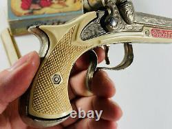 VTG Hubley 265 Pirate Pistol Cap Gun with Original Box