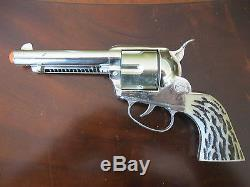 Very Nice Mattel Shootin' Shell Cap Gun & Holster Set withOriginal Mattel Knife ++