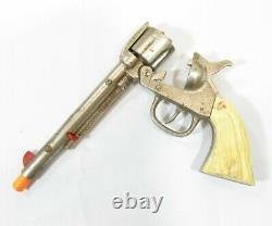 Vintage 1930-1940's Kilgore Cast Iron Long Tom Toy Cap Gun D8