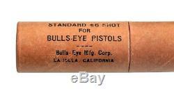 Vintage. 1937 Sharpshooter Bulls Eye Bullseye Mfg Co Metal Pistol Gun Orig Box