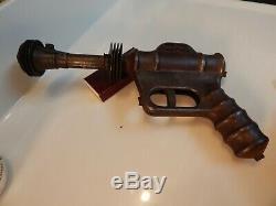 Vintage 1940's Daisy U-235 Buck Rogers Atomic Pistol Toy Gun