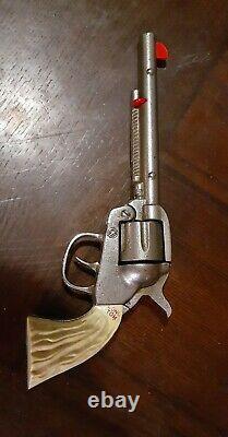 Vintage 1940's Kilgore Long Tom Cast Iron Cap Gun- RARE
