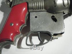 Vintage 1950's HUBLEY ATOMIC DISINTEGRATOR SPACE RAY Cap Gun Toy BUCK ROGERS