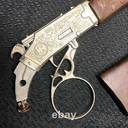 Vintage 1950's Hubley The Rifleman Flip Special Rifle Toy Cap Gun Cowboy READ #1