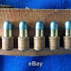 Vintage 1950's Mattel Fanner 50 cap gun pistol withoriginal holster & 6 bullets