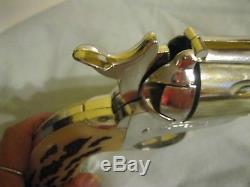 Vintage 1950's Mattel Shootin' Shell. 45 Cap Gun The Big One