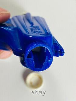 Vintage 1950's Pez Candy Space Gun BLUE nice toy repair