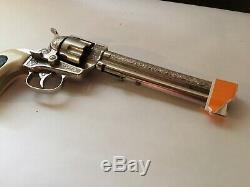 Vintage 1950s Halco Marshall 6 to 7-shot Cap Gun