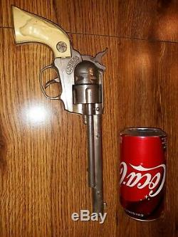 Vintage 1950s Hubley Colt 45 Cap Gun Old Toy. 45 Capgun Pistol Western Cowboy