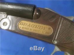 Vintage 1955 DRAGNET TV Show Riot Gun Shotgun by Knickerbocker, USA