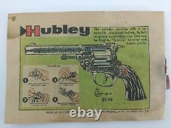 Vintage 1958 Hubley Colt 45 Toy Cap Gun Very Nice