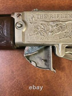 Vintage 1958 Hubley Rifleman Flip Special Rifle Cap Gun