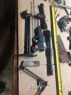 Vintage 1960s Ideal Man From Uncle Napoleon Solo Gun With Conversion Pieces