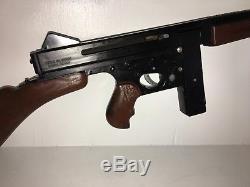 Vintage 1960s MATTEL TOMMY BURST Bolt Action Machine Cap Gun