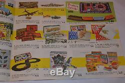 Vintage 1962 Toy Catalog! Cap Guns/buddy L/tonka/games/art Sets/erector Set/++++
