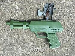 Vintage 1964 Johnny Seven One Man Army Gun, Pistol, Ammo, Bombs by Topper Toys