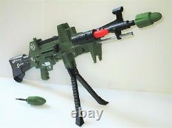 Vintage 1964 Topper Toys Johnny Seven O. M. A. Toy Gun Cap Gun Some Accessories