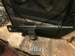 Vintage 1966 Mattel Marauder M-16 Automatic Rifle Toy Gun Tested Excellent