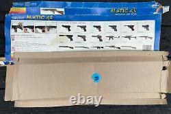 Vintage 1980s Edison Giocattoli Toy Gun Italy Matic 45 In Box Italy