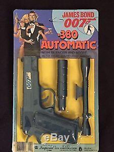 Vintage 1984 007 James Bond. 380 Automatic Toy Pistol Gun Octopussy Mint