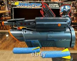 Vintage 1993 Toy Island Robocop Electronic Weapon Arm with Box INCOMPLETE RARE
