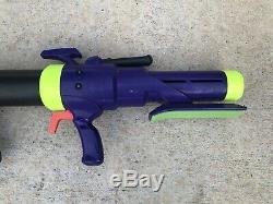 Vintage 1994 Mattel Nerf ULTIMATOR Bazooka Rocket Toy Gun Blaster Missile 90