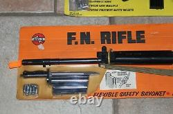 Vintage AIRFIX F. N. Rifle and Tommy Gun Toy Bundle (NOS 1975) Vary Rare
