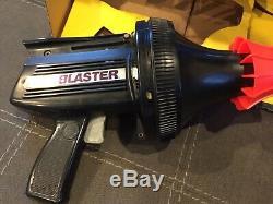 Vintage Air Blaster Toy Blow Gun WithOriginal Box & Target Working 1978 Wham-O