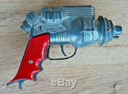 Vintage Atomic Disintegrator Hubley Ray Gun Buck Rogers Space Toy Cap Gun NR