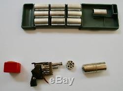 Vintage Austrian Pinfire Toy Cap Gun In Original Box Xythos Toy Gun
