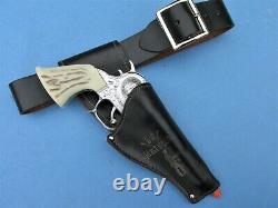 Vintage Bat Masterson Cap Gun Holster Rig (guns Not Included) Make Offer