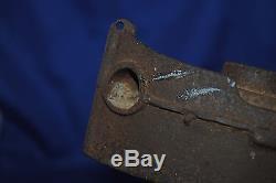 Vintage Big Bang 1924-1935 cast iron 9B Navy Gun Boat