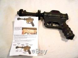 Vintage Buck Rogers Atomic Pistol/Ray Gun Daisy MFG Space Toy U235
