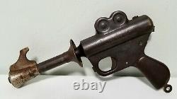 Vintage Buck Rogers Atomic Space Ray Pistol Pop Gun Toy Works