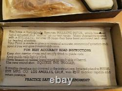 Vintage Bulls Eye SHARP SHOOTER Gun Pistol with box