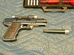 Vintage COMPLETE Multi Pistol 09 1965 Topper Toys Toy Gun Secret Sam Spy Kit