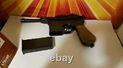 Vintage Cap Gun Larami Mauser Rare 80s Toy Gun