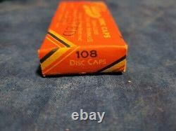 Vintage Carton of Kilgore Toy Paper Disc Cap Gun No 108 See Ad 58 Boxes