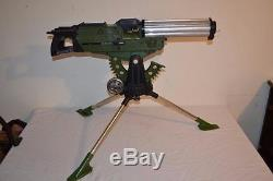 Vintage Deluxe Reading Corps Defender Dan Automatic Machine Gun Toy PLEASE READ